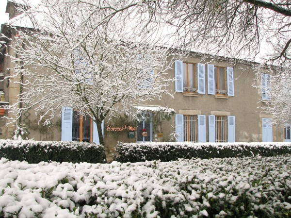 Christmas at 3 Place des Arbres, vegetarian B&B